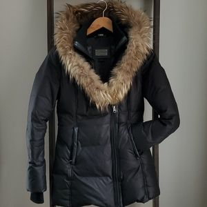 Mackage Women's Adali Coat, Black, Size XS